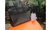 Authentic Hermes Birkin 35cm Chocolate Color Togo leather Stamp N