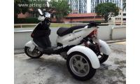 Sale | Used | Secondhand Scooter / Trike / 3wheel PGO TR3 150
