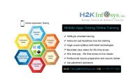 Mobile Apps Testing Online Training Classes and Placements in USA