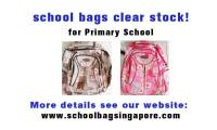 School bags promotion! Only S$9.9