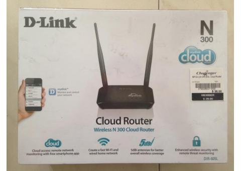 WTS: Brand New D-Link Wireless N300 Cloud Router $20