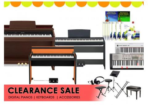 Clearance Sale! Digital Piano - Keyboard - Accessories - from $11
