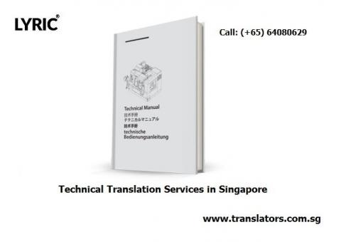 Technical Translation Services in Singapore