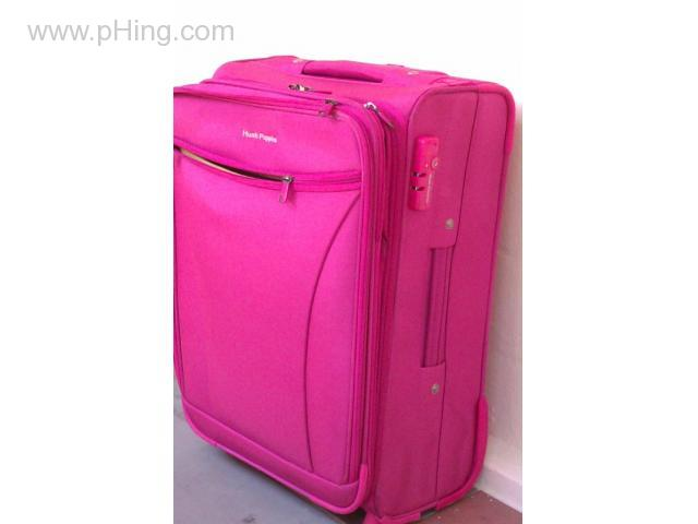 Rare Hush Puppies Pink Trolley Bag Luggage Bag Travel Bag Phing Com Classifieds